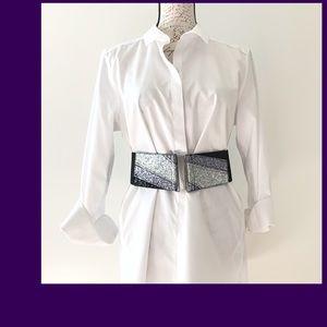 NWOT Embellished Shimerjng Belt
